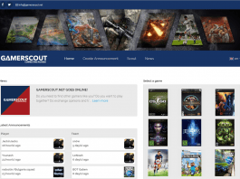 gamerscout find players