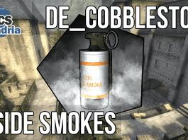 smoke cobble, t side, terrist side smokes, cobblestone smokes