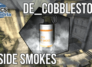 smoke cobble, t side, terrist side smokes, cobblestone smokes