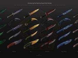 csgo knives skins