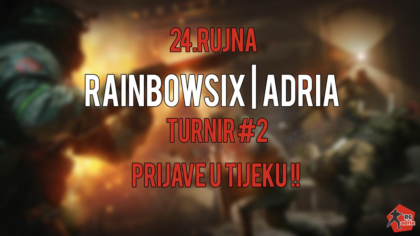 Najavljujemo Rainbow6 Adria Turnir #2!