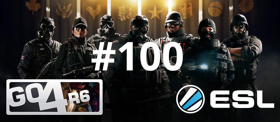 First 100 ESL GO4R6 (EU-PC) cups