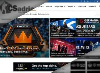 csadria.org portal
