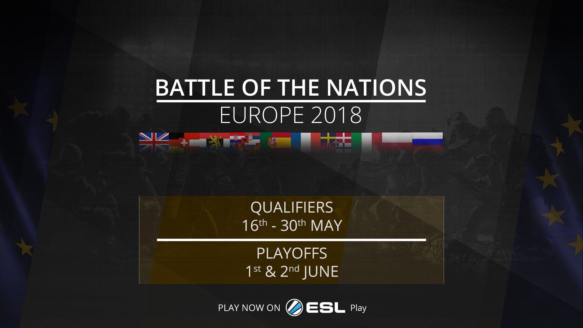 Battle of the Nations ESL EU