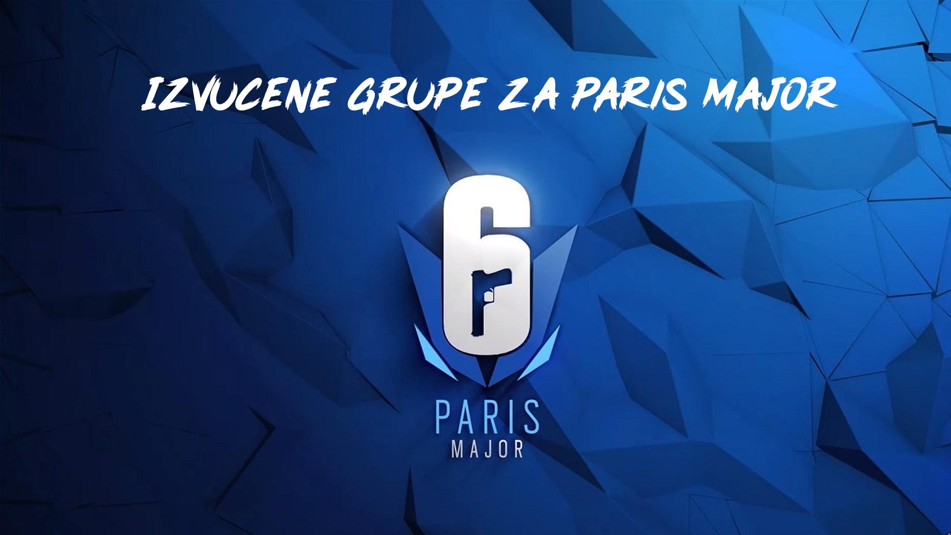 Izvučene grupe za Paris Major