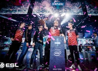 ESL One New York Mouz