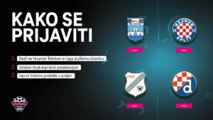 Kako se prijaviti? Hrvatski Telekom e-Liga